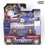 Marvel Minimates TRU Toys R Us Avengers Movie Hawkeye & Black Widow