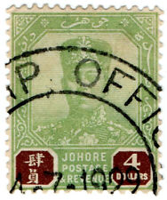 (I.B) Malaya States Revenue : Johore Duty $4