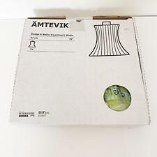 "Ämtevik Ikea Lamp Green Blue 37cm 15""  New In Box Amtevik"