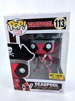 FUNKO Hot Topic Exclusive -  Deadpool Pirate  #110 - POP! Vinyl NEW