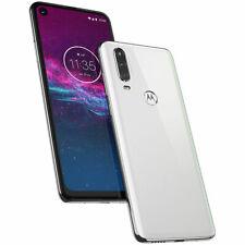 NEW Motorola One Action 128GB Pearl White Unlocked GSM+CDMA Single SIM