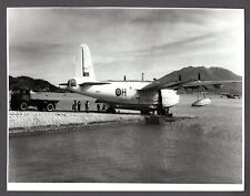 SHORT SUNDERLAND FLYING BOAT RAF 88 SQUADRON KAI TAK HONG KONG BAY VINTAGE PHOTO