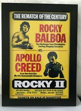 Rocky Sylvester Stallone Movie Poster ver2 Reproduction Canvas Picture Art Print