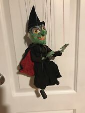 VTG Pelham Puppets Wicked Witch Marionette Made in England