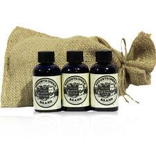 Mountaineer Brand® Beard Oil Three Pack (WV Timber, WV Coal, WV Barefoot)