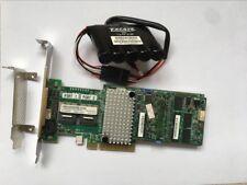 IBM M5110 8-Port 6Gb PCI-e SAS/SATA 1GB cache Controller RAID+LSI BBU09 Battery