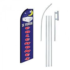 SE VENDEN COLCHONES 15' COMPLETE SWOOPER FLAG STARTER KIT Bow Feather