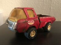 Vintage Tonka Red Pickup Toy Truck. Steel Truck. WTO-760 Tires