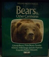 Wild, Wild World of Animals: Bears and Other Carnivores,etc. set of 5 1976-1978