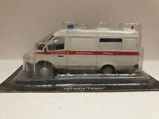 IXO IST GAZ 32214 Gazell Ambulance Russian DeAgostini 1:43 MIB OVP oldstock CCCP