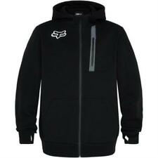 Nouveau Fox Racing Men's MX Pit Tech Polaire à Capuche Sweat à Capuche Veste Manteau Noir XL