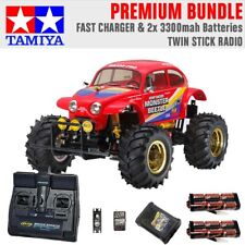 TAMIYA RC 58618 Monster Beetle 2015 off road 1:10 Premium Stick Radio Bundle