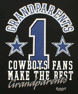 VTG 1998 Dallas Cowboys Fans Make the Best Grandparents NFL T-shirt, Riddell, XL
