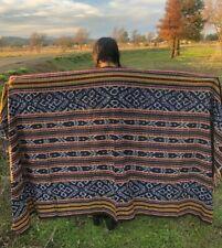 Ethnic Handwoven Textiles Sumbawa Blanket Home Decoration Tenun Ikat