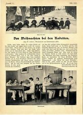 W.Scheer Oberleutnant am Kadettenhaus Plön Vor Weihnachten bei den Kadetten 1903