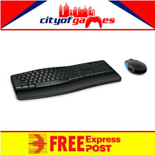 Microsoft Sculpt Comfort Desktop Wireless USB Ergonomic Keyboard and Mouse Combo