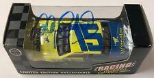 1996 Dale Earnhardt Sr. Signed Auto WRANGLER JEANS #15 1/64 Deicast Car