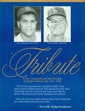 1993 Los Angeles Dodger Roy Campanella & Don Drysdale Tribute Program July 16-17