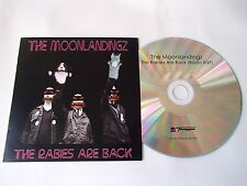 THE MOONLANDINGZ - THE RABIES ARE BACK (RADIO EDIT) - VERY RARE PROMO CD