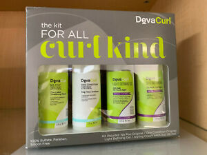 DevaCurl The Kit For All Curl Kind - NEW IN BOX & FRESH - Same Day Shipping!