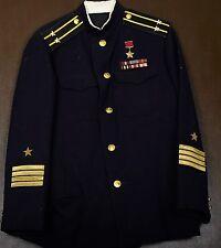 Original russische Uniform Marine Jacke + Hose Kapitan Orden Medaille UdSSR