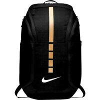 Nike Hoops Elite Hoops Pro Basketball Backpack Black Metallic Gold NEW NWT