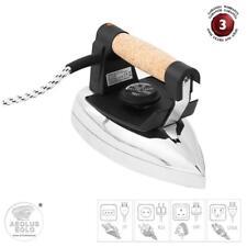 EOLO Ferro da stiro professionale a secco piastra lucida Stir Lux FR03