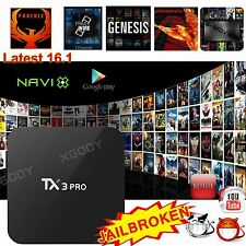 XGODY Newest 4K Android 6.0 TV BOX TX3PRO Quad core S905X 16.1 FULLY LOADED HDMI