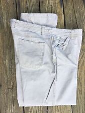 COLUMBIA Womens Casual Cotton Utility Pants 14 x 29.5
