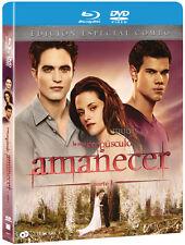 PELICULA BLURAY+DVD CREPUSCULO AMANECER PARTE 1 ED.ESPECIAL METALICA PRECINTADA