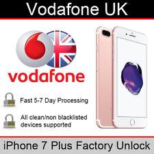 Vodafone UK iPhone 7 Plus Factory Unlocking Service