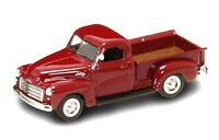 New In Box  Road Signature 1/43 Scale Diecast Burgundy1950 GMC PICK UP Truck