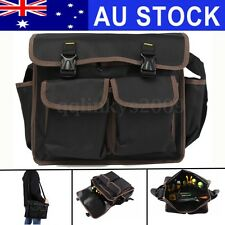 AU Waterproof Multi Funtional Oxford Toolkit Backpack Shoulder Hardware Tool Bag