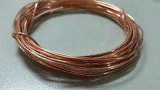 GROUND WIRE SOLID BARE 99.9 COPPER 16 AWG 25'  Jewelry Crafts Grounding USA