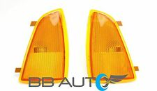 94-97 CHEVY S10 BLAZER FRONT CORNER PARK SIGNAL SIDE MARKER LIGHT LENS SET 2 NEW