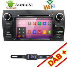 "7"" HD Touch Screen In Dash Car DVD GPS Player Radio TV For TOYOTA Tundra+Camera"