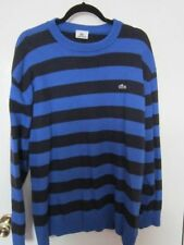 Lacoste Crew Neck Woolen Striped Jumpers & Cardigans for Men