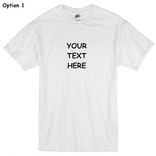 EASY Personalized t-shirt with your custom text