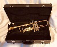 Ex-demo Arbiter ProSound Bb Brass Lacquer Trumpet Very Good Condition with Case