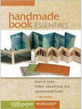 Handmade Book Essentials DVD Cloth Paper Scissors Workshop, NEW, FREE SHIPPING