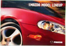 2003 Mazda Model Lineup Sales Brochure Mazda6 MX-5 Miata Protege5 MPV Tribute