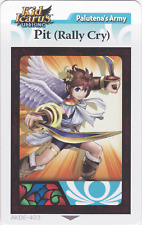 Kid Icarus Uprising AKDP-403 Pit (Rally Cry) Diamond Wing Rare Card