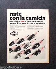 P660 - Advertising Pubblicità -1973- MAGNETI MARELLI , NATE CON LA CAMICIA ROSA