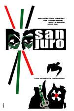 Movie Poster for film San Juro.Japanese Samurai.Kurosawa.Room art decor design