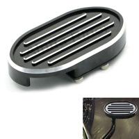Edge Cut Grille Brake Pedal Pad Cover For Harley Sportster 1200 883 Custom VRod