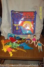 Learning Curve Feltkids Play System Let's Put On A Show 1998 Lot of 20