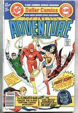 Adventure Comics #459-1978 fn+ Flash Wonder Woman New Gods Giant-Size