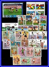collection FOOTBALL CUP x 5 sets + 2 s/s MNH SOCCER, SPORTS, TENNIS