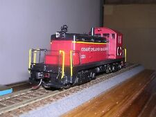 Brass Alco Models Coast Island R.R. Emd Sw-1 Diesel Loco #321 Custom Painted
