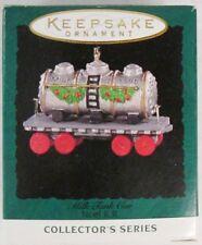 1995 Noel RR: Milk Tank Car 7th in Series (Hallmark Keepsake Miniature Ornament)